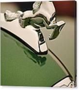 1952 Sterling Gladwin Maverick Sportster Hood Ornament Canvas Print