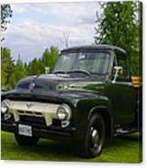 1953 Ford F-100 Canvas Print
