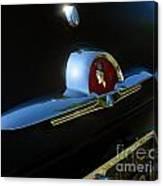 1953 Mercury Monterey Hood Emblem Canvas Print