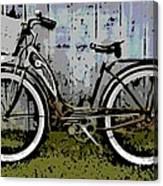 1953 Schwinn Bicycle Canvas Print