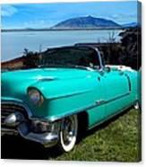 1954 Cadillac Convertible Canvas Print