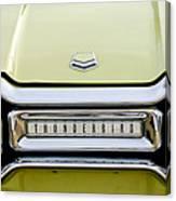 1954 Ford Thunderbird Taillight Emblem Canvas Print
