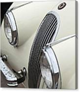 1954 Jaguar Xk120 Roadster Grille Canvas Print