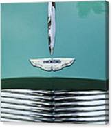 1955 Aston Martin Grille Emblem Canvas Print