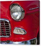 1955 Chevrolet 210 Front End Canvas Print