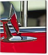 1955 Chevrolet 210 Rear View Mirror Canvas Print