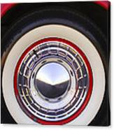 1955 Chevrolet Nomad Wheel Canvas Print