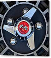 1955 Chevrolet Truck Wheel Rim Canvas Print