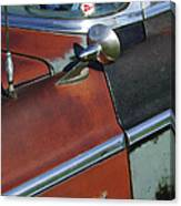 1955 Chrysler Windsor Deluxe Emblem Canvas Print