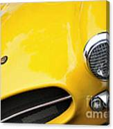 1956 Buckle Gt Coupe - Badge Grill Headlight Canvas Print