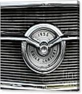 1956 Buick Century Grill Emblem Canvas Print