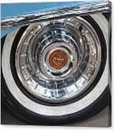 1956 Cadillac Front Wheel Canvas Print