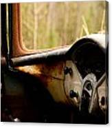 1956 Chevy Inside Canvas Print