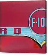 1956 Ford F100 Canvas Print