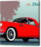 1956 Thunderbird Canvas Print