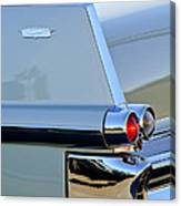 1957 Cadillac Taillight Canvas Print
