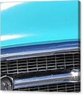 1957 Chevrolet Bel Air Classic Car Panoramic Fine Art Photo  Canvas Print