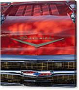 1957 Chevrolet Grille 2 Canvas Print