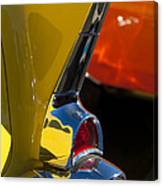 1957 Chevrolet Taillight Canvas Print