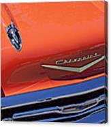 1957 Chevy Bel Air Canvas Print