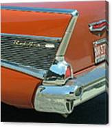 1957 Chevy Belair Canvas Print