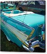 1957 Chevy Convertable Canvas Print