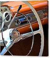 1957 Chevy Dash Canvas Print