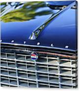 1957 Chrysler 300c Grille Emblem Canvas Print