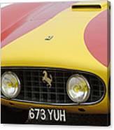 1957 Ferrari 250 Gt Lwb Scaglietti Berlinetta Canvas Print