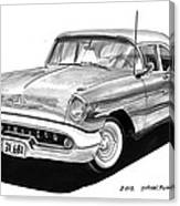 Oldsmobile Super 88 Canvas Print