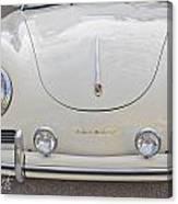 1957 Porsche Speedster Antique Car Canvas Print