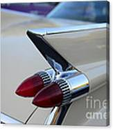 1958 Cadillac Tail Lights Canvas Print