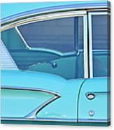 1958 Chevrolet Belair Canvas Print