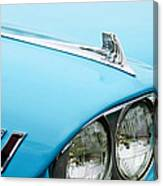 1958 Chevrolet Impala Fender Spear Canvas Print