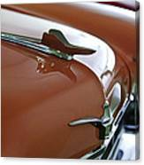 1958 Chrysler Imperial Hood Ornament Canvas Print