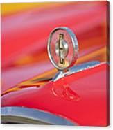 1958 Edsel Roundup Hood Ornament Canvas Print