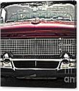 1958 Lincoln Continental Canvas Print