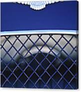 1959 Aston Martin Jaguar C-type Roadster Emblem Canvas Print