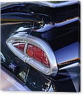 1959 Chevrolet Impala Taillight Canvas Print