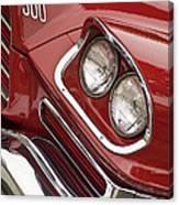 1959 Chrysler 300 Headlight Canvas Print