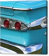 1959 Edsel Corvair Taillights Canvas Print