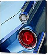1959 Ford Skyliner Convertible Taillight Canvas Print