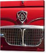1960 Autobianchi Bianchina Transformabile Coupe Hood Emblem Canvas Print