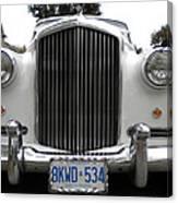 1960 Bentley Front Canvas Print