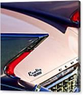 1960 Cadillac Eldorado Taillights Canvas Print