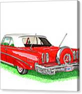1960 Edsel Ranger Continental Kit Canvas Print