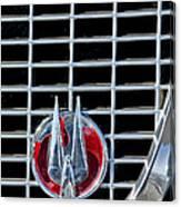 1960 Studebaker Hawk Coupe Emblem Canvas Print