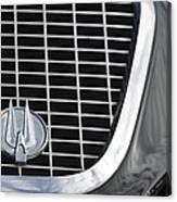 1960 Studebaker Hawk Grille Emblem Canvas Print