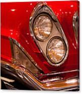 1961 Chrysler 300g 2-door Hardtop Canvas Print