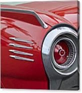 1961 Ford Thunderbird Taillight Canvas Print